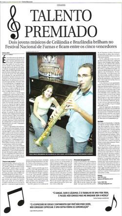 Jornal Correio Braziliense ago/2006