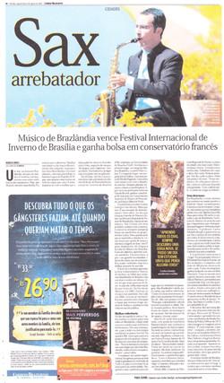 Jornal Correio Braziliense ago/2007