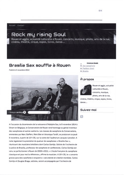 Blog francês Rock my rising soul