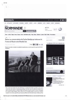 Site do Jornal PARIS-NORMANDIE