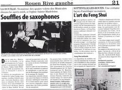 Jornal Paris-Normandie - Abril/2009