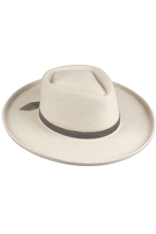 Deep Brim Taupe Adjustable