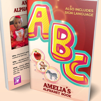 Author 2 year old - Amelia Nelson