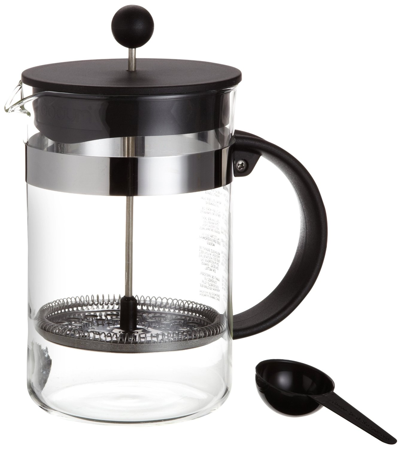 Bodum French Press Instructions Manual Cafe West Side Pane From Heaven