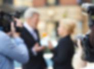 政治家ニュースインタビュー