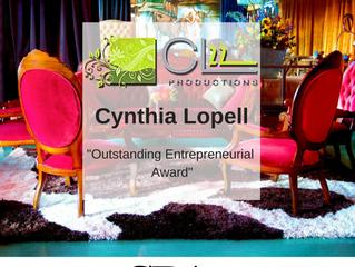 "Cynthia Lopell to Receive ""Outstanding Entrepreneurial Award"""