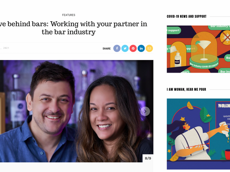 In The Media: Love behind bars: Working with your partner in the bar industry - Drink Magazine