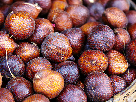 Salak - The Fruit with Snake Skin