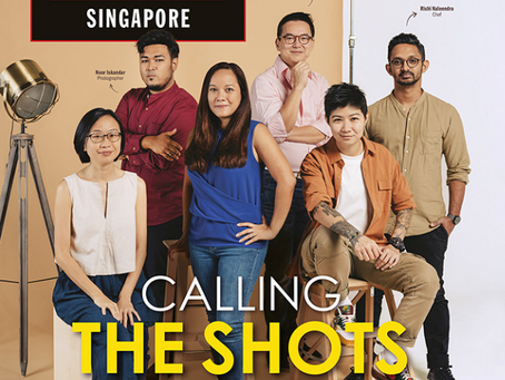 In The Media: Calling The Shots (Time Out Singapore)