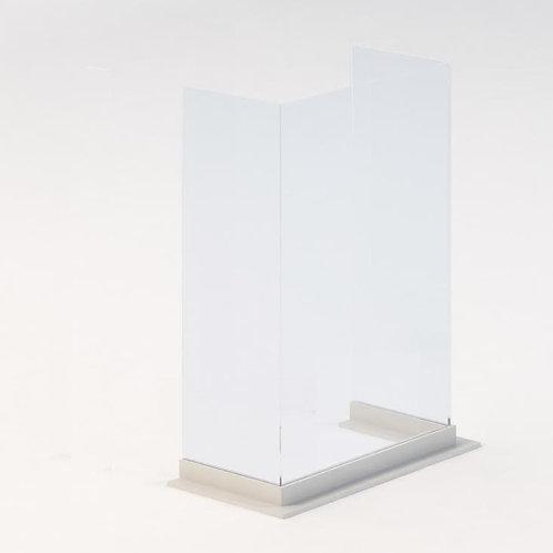 "Custom Triple Side Protective Barrier- WOOD BASE (28"" width)"