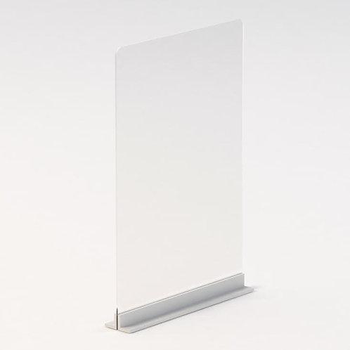 Custom Single Side Protective Barrier- METAL BASE