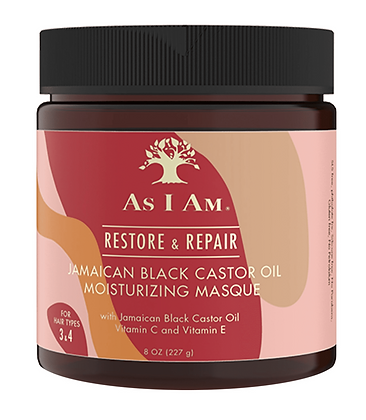 As I Am Jamaican Black Castor Oil Moisturizing Masque 8 oz