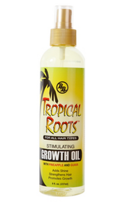 Bronner Bros - Tropical Roots Stimulating Growth Oil (8oz)