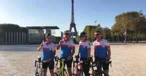 Team Brean raise over £8000 in charity Bristol to Paris bike ride
