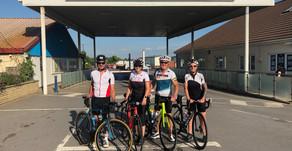 Team Brean cycle challenge - Training Update