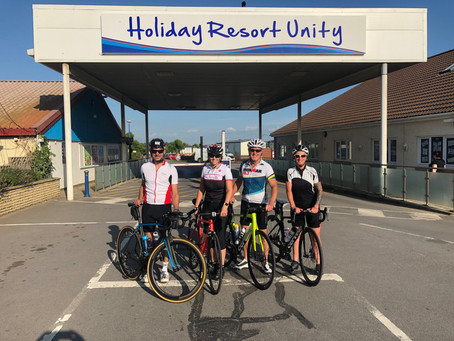 Team Brean cycle challenge - Training Update