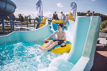 Swimming Pool Slide in Brean