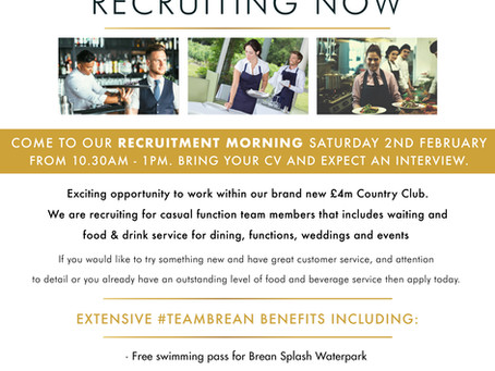 Recruitment open morning at Brean Country Club