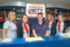 Reception Team at Holiday Resort Unity, Brean
