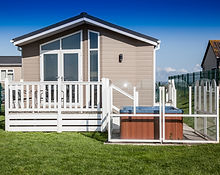 Hot Tub Lodges at Holiday Resort Unity