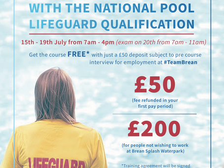 FREE Summer Lifeguard Course