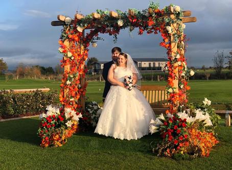 Congratulations Mr & Mrs Bennett