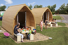 Camping Pods at Holiday Resort Unity