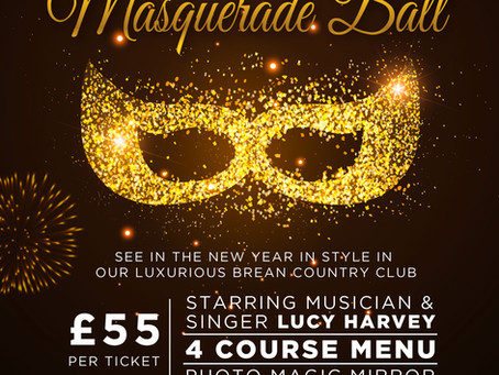 Booking now for New Years Eve Ball