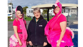 Team Brean raise over £350 for Breast Cancer Now