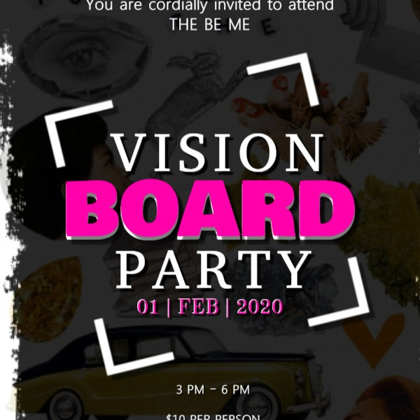 BE ME Vision Board Party