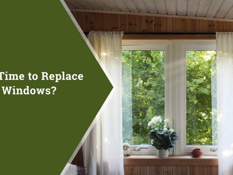 Selling your Home? Wondering if you should replace Windows?