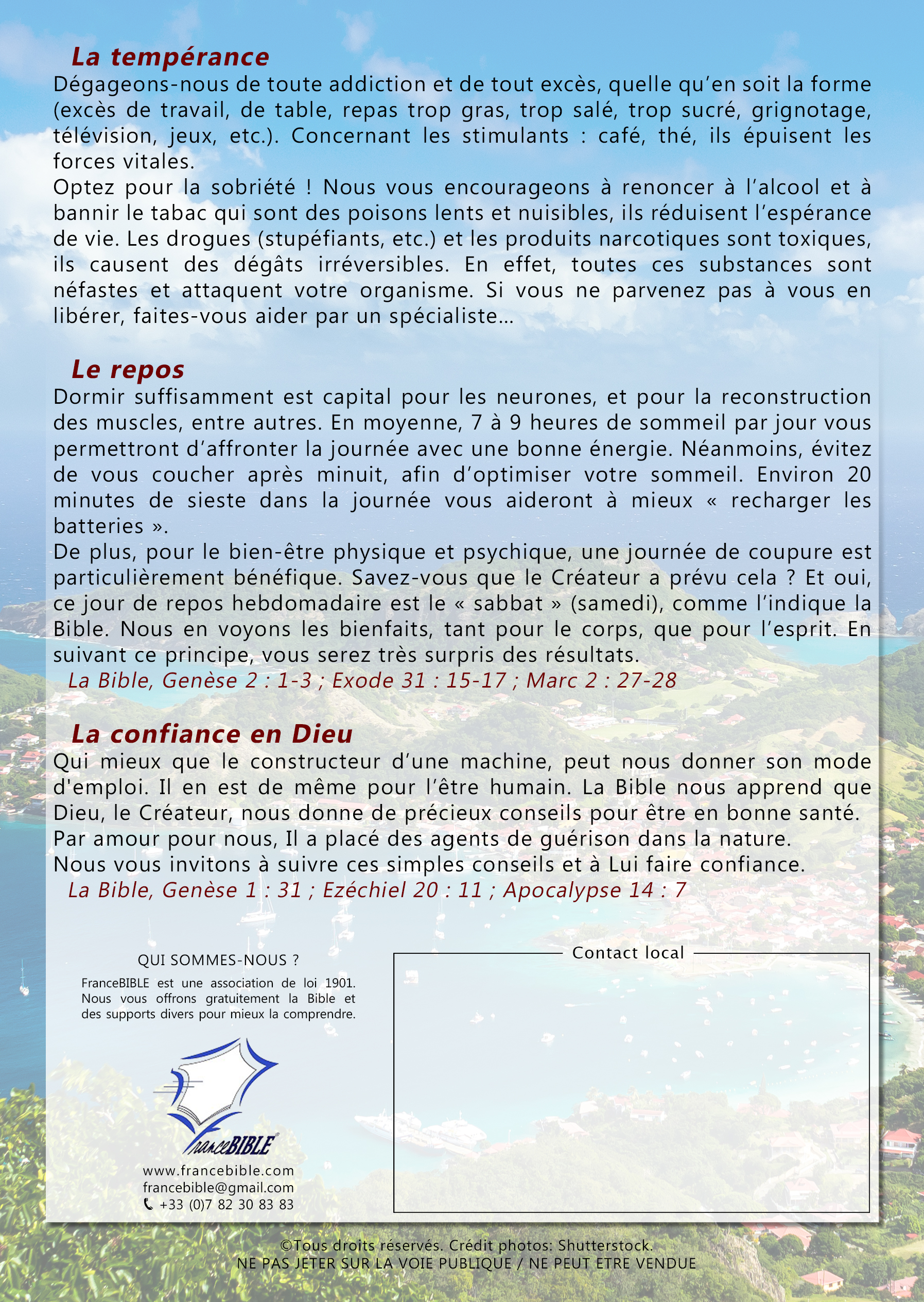 Flyer_-_Santé_tropical_verso_©Copyright_FranceBIBLE