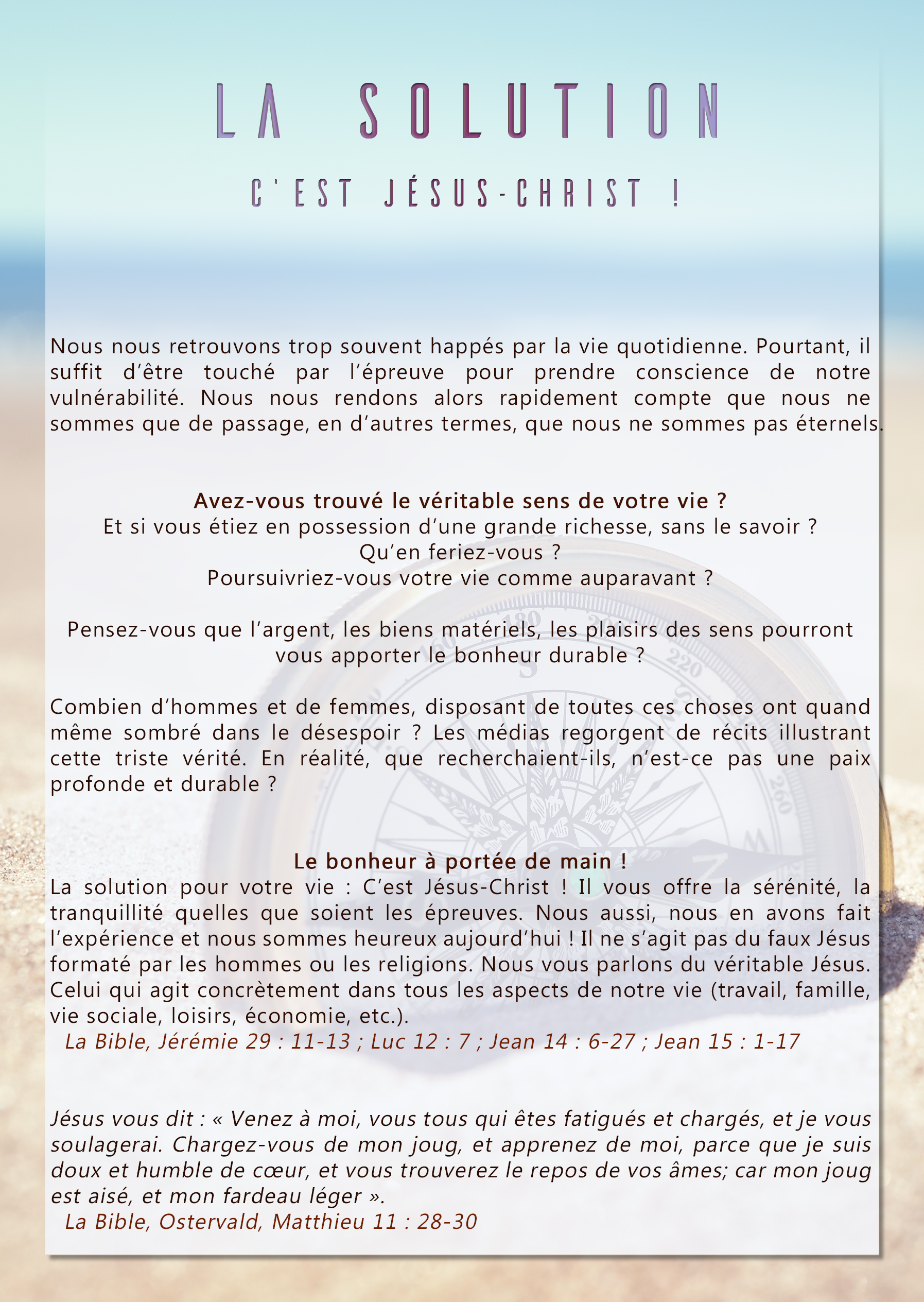 Flyer_-_La_solution_(océan)_recto_©Copyright_FranceBIBLE
