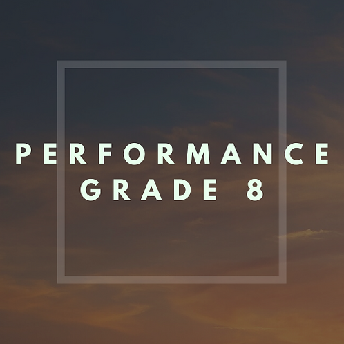 Performance Grade 8