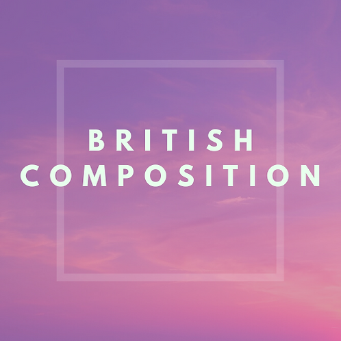 British Composition