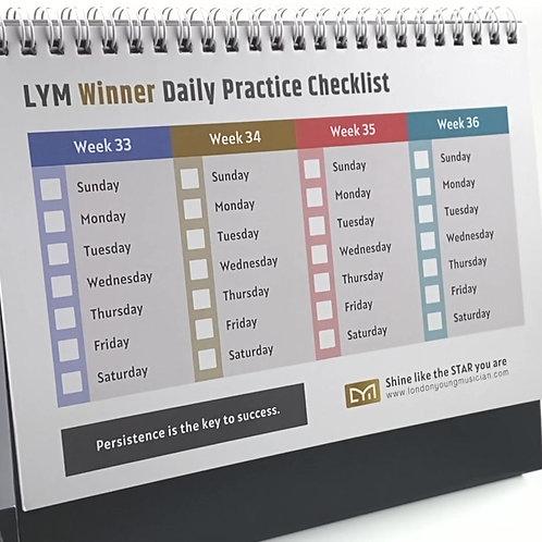 Winner Practice Checklist
