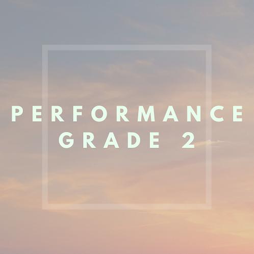 Performance Grade 2