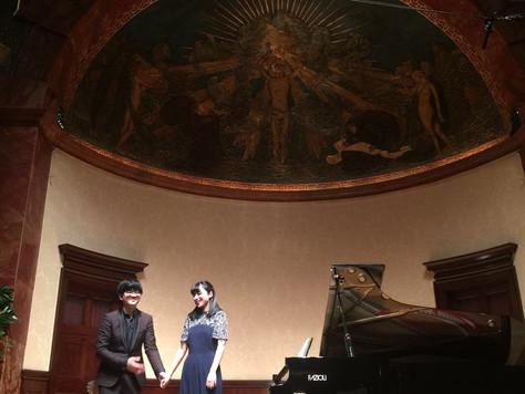 PIANO DUO PREMIERE AT LONDON WIGMORE HALL