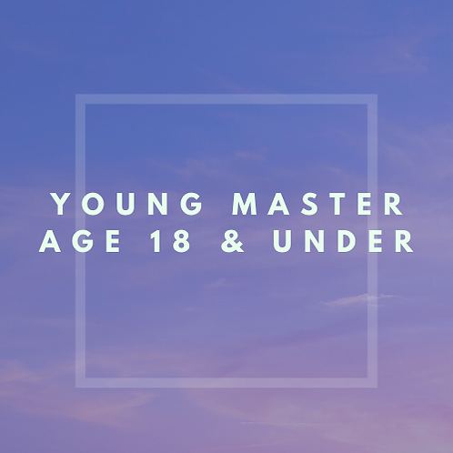 Young Master Age 18 & Under
