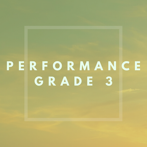 Performance Grade 3