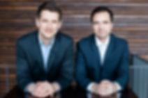 Dr. Tobias Tröger (Head of R&D) and Dr. Claudius Moor (CEO)