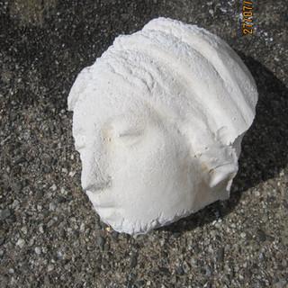 Fragment de la tête de la statue