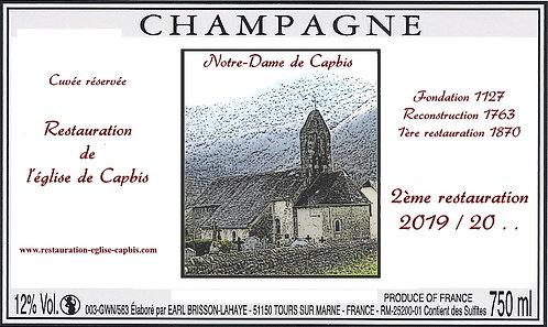 1/2 bouteille Champagne Notre-Dame de Capbis (37,5 cl)