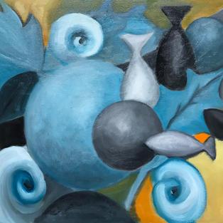 Blue Abstract No. 2
