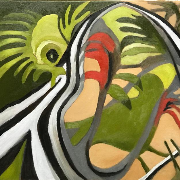 Jungle Abstract No. 1