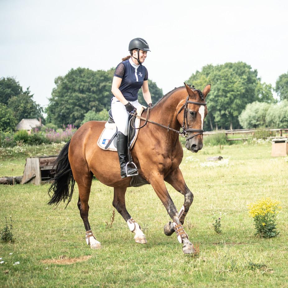 Elsemiek met haar paard