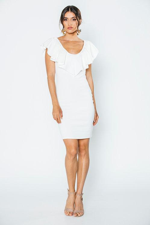 Vestido Blanco bodycon