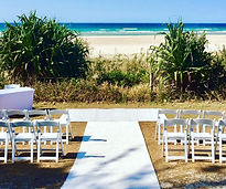 Chair Cover and Sash Hire Gold Coast