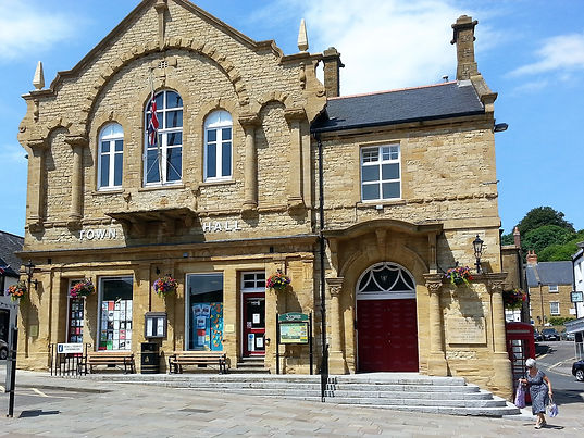 Crewkerne Town Hall and information centre