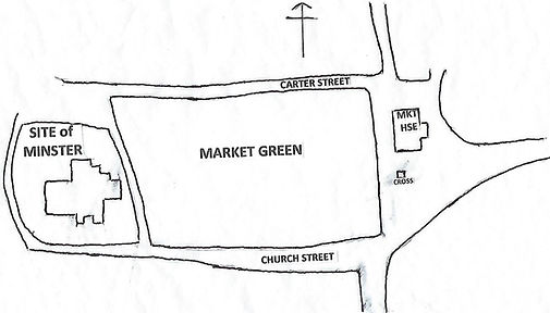 Sketch Map of Market Green area